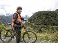 Biking the Death Road (Yungas Road) in Bolivia