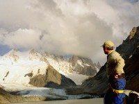 Shane at Mt Fitz Roy Argentina.